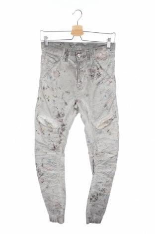 Дамски панталон Gang, Размер XS, Цвят Сив, 97% памук, 3% еластан, Цена 11,13лв.
