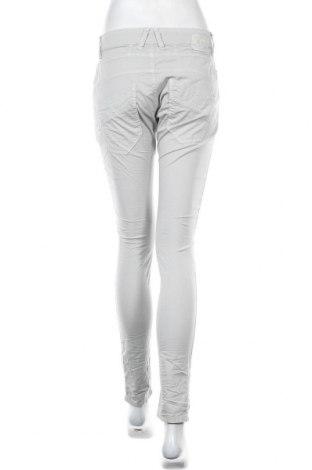 Дамски панталон Gang, Размер M, Цвят Сив, 97% памук, 3% еластан, Цена 111,75лв.