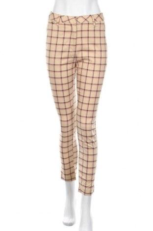 Дамски панталон Glassons, Размер S, Цвят Бежов, 63% полиестер, 34% вискоза, 3% еластан, Цена 10,87лв.