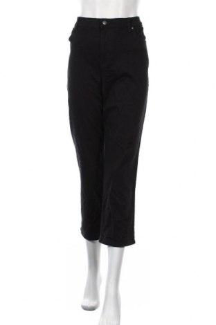 Дамски панталон Gloria Vanderbilt, Размер XL, Цвят Черен, 98% памук, 2% еластан, Цена 15,59лв.