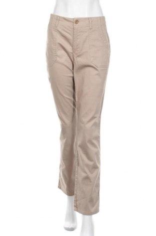 Дамски панталон Gloria Vanderbilt, Размер M, Цвят Бежов, 98% памук, 2% еластан, Цена 6,83лв.