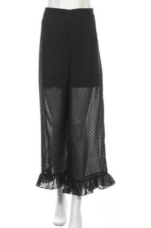 Дамски панталон H&M Divided, Размер XL, Цвят Черен, Полиестер, Цена 36,75лв.