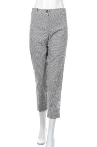 Дамски панталон Kathleen Madden, Размер XL, Цвят Бял, 68% памук, 29% полиестер, 3% еластан, Цена 23,21лв.