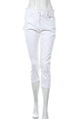 Дамски панталон Liv, Размер M, Цвят Бял, 98% памук, 2% еластан, Цена 10,50лв.