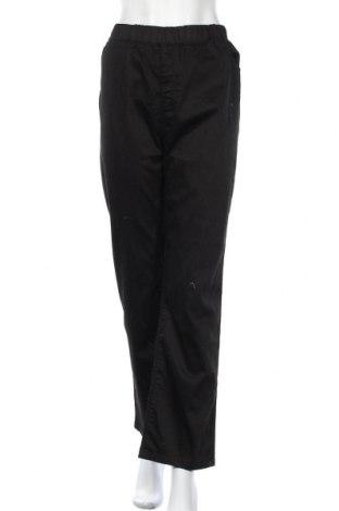 Дамски панталон Moon Girl, Размер XXL, Цвят Черен, 78% памук, 20% полиестер, 2% еластан, Цена 25,52лв.