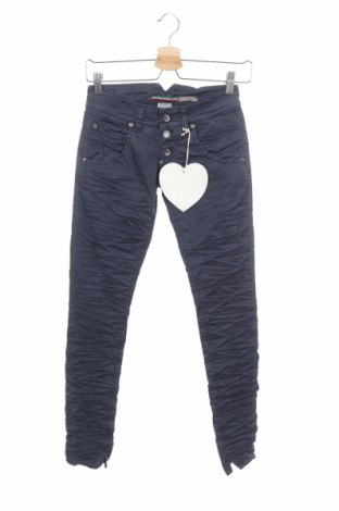 Γυναικείο παντελόνι Please, Μέγεθος XXS, Χρώμα Μπλέ, 98% βαμβάκι, 2% ελαστάνη, Τιμή 5,74€