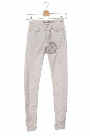 Дамски панталон Please, Размер XXS, Цвят Сив, 98% памук, 2% еластан, Цена 15,90лв.