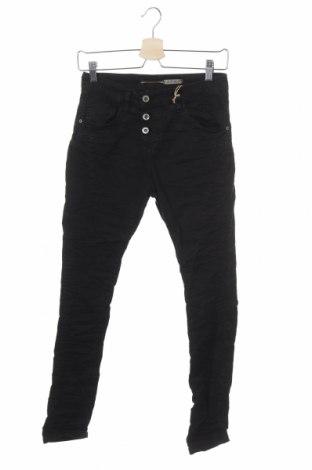 Дамски панталон Please, Размер XXS, Цвят Черен, 98% памук, 2% еластан, Цена 12,72лв.