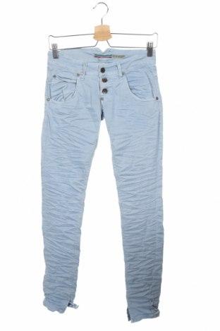 Дамски дънки Please, Размер XXS, Цвят Син, 98% памук, 2% еластан, Цена 19,08лв.