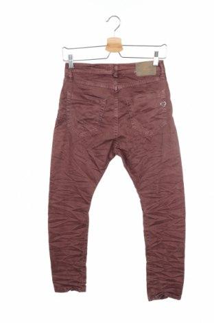 Дамски дънки Please, Размер XS, Цвят Розов, 98% памук, 2% еластан, Цена 28,62лв.