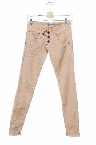 Γυναικείο παντελόνι Please, Μέγεθος XS, Χρώμα  Μπέζ, 97% βαμβάκι, 3% ελαστάνη, Τιμή 6,56€