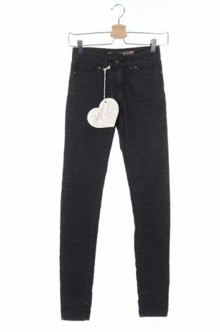 Дамски панталон Please, Размер XS, Цвят Черен, 63% памук, 33% полиестер, 4% еластан, Цена 28,62лв.