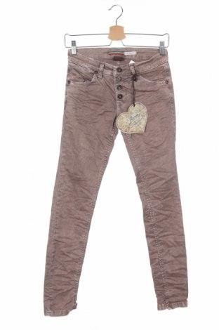 Γυναικείο παντελόνι Please, Μέγεθος XS, Χρώμα Βιολετί, 98% βαμβάκι, 2% ελαστάνη, Τιμή 5,74€