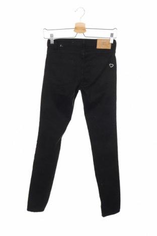 Дамски дънки Please, Размер XXS, Цвят Черен, 98% памук, 2% еластан, Цена 15,90лв.