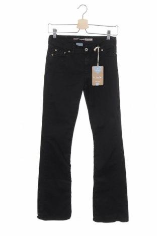 Дамски панталон Please, Размер XS, Цвят Черен, 98% памук, 2% еластан, Цена 15,90лв.