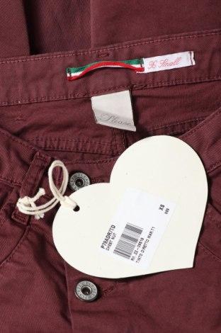 Дамски дънки Please, Размер XS, Цвят Червен, 98% памук, 2% еластан, Цена 28,62лв.