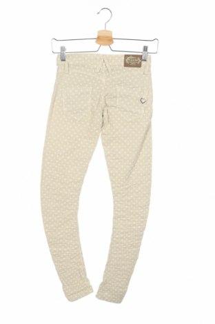 Дамски панталон Please, Размер XXS, Цвят Бежов, 98% памук, 2% еластан, Цена 16,90лв.