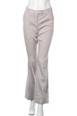Дамски панталон Rw & Co., Размер M, Цвят Сив, 55% лен, 30% полиестер, 13% вискоза, 2% еластан, Цена 20,58лв.