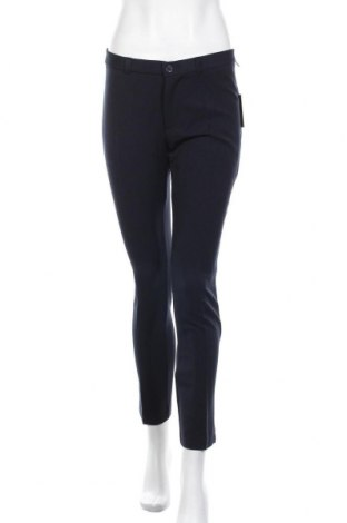 Дамски панталон Sandro Ferrone, Размер M, Цвят Син, 79% полиестер, 17% вискоза, 4% еластан, Цена 36,57лв.