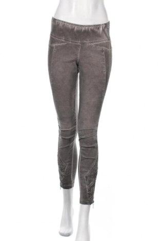 Γυναικείο παντελόνι Tredy, Μέγεθος S, Χρώμα Γκρί, 75% βισκόζη, 20% πολυαμίδη, 5% ελαστάνη, Τιμή 8,87€
