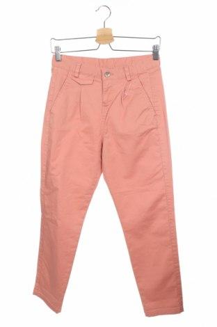 Дамски панталон United Colors Of Benetton, Размер XS, Цвят Розов, 98% памук, 2% еластан, Цена 21,00лв.