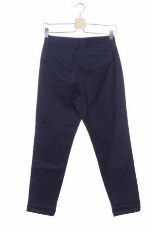 Дамски панталон United Colors Of Benetton, Размер XS, Цвят Син, 98% памук, 2% еластан, Цена 17,80лв.