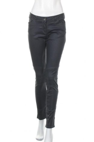Дамски панталон Up 2 Fashion, Размер M, Цвят Син, 98% памук, 2% еластан, Цена 7,35лв.