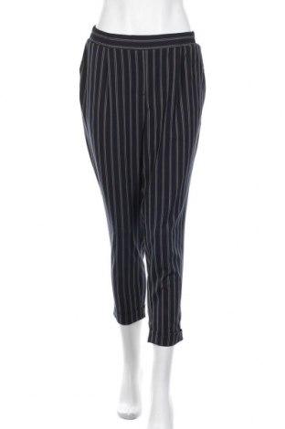 Дамски панталон Van Heusen, Размер L, Цвят Син, 67% полиестер, 28% вискоза, 5% еластан, Цена 8,09лв.