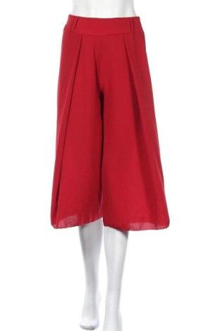 Дамски панталон Zuiki, Размер XS, Цвят Червен, 95% полиестер, 5% еластан, Цена 26,55лв.