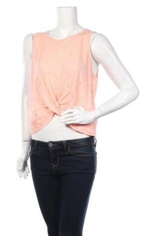 Γυναικείο αμάνικο μπλουζάκι Aeropostale, Μέγεθος XL, Χρώμα Ρόζ , 52% λινό, 48% βισκόζη, Τιμή 5,84€