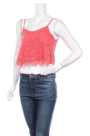 Γυναικείο αμάνικο μπλουζάκι Ambiance Apparel, Μέγεθος S, Χρώμα Ρόζ , 65% βαμβάκι, 35% πολυαμίδη, Τιμή 3,41€