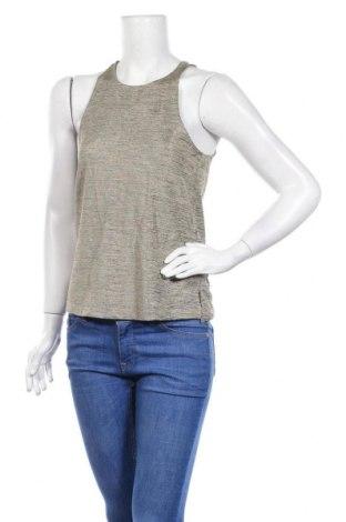 Γυναικείο αμάνικο μπλουζάκι Ardene, Μέγεθος S, Χρώμα  Μπέζ, 95% πολυεστέρας, 5% ελαστάνη, Τιμή 9,87€