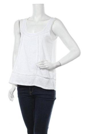 Дамски потник H&M L.O.G.G., Размер S, Цвят Бял, 100% памук, Цена 9,56лв.