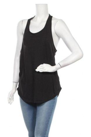 Γυναικείο αμάνικο μπλουζάκι H&M Sport, Μέγεθος M, Χρώμα Μαύρο, Πολυεστέρας, βαμβάκι, βισκόζη, Τιμή 9,35€