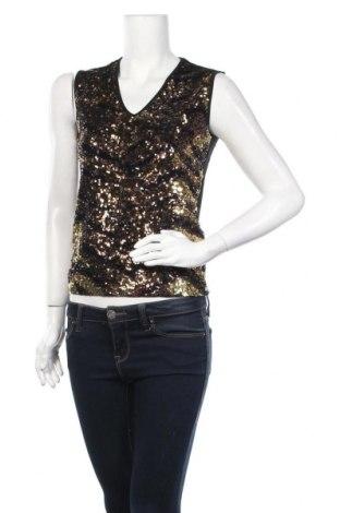 Γυναικείο αμάνικο μπλουζάκι Nice Connection, Μέγεθος M, Χρώμα Μαύρο, 95% βισκόζη, 5% ελαστάνη, Τιμή 5,82€