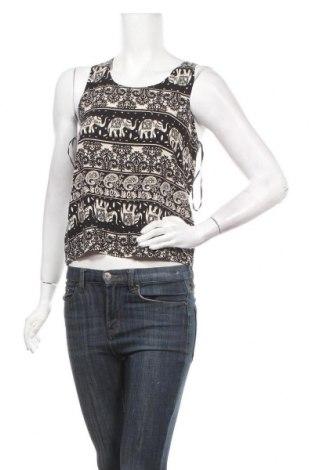 Γυναικείο αμάνικο μπλουζάκι Qed London, Μέγεθος M, Χρώμα  Μπέζ, Βισκόζη, Τιμή 3,64€