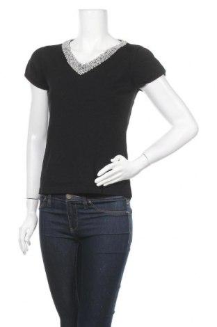 Дамска блуза Silbor, Размер L, Цвят Черен, 95% вискоза, 5% еластан, Цена 15,12лв.