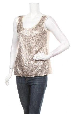 Γυναικείο αμάνικο μπλουζάκι Soya Concept, Μέγεθος M, Χρώμα  Μπέζ, Βαμβάκι, Τιμή 3,64€