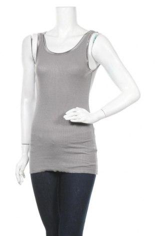 Γυναικείο αμάνικο μπλουζάκι Soya Concept, Μέγεθος M, Χρώμα Γκρί, 95% βισκόζη, 5% ελαστάνη, Τιμή 13,51€