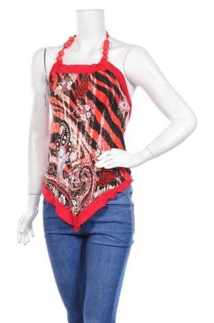 Γυναικείο αμάνικο μπλουζάκι Tu, Μέγεθος S, Χρώμα Κόκκινο, 91% πολυεστέρας, 9% ελαστάνη, Τιμή 3,41€