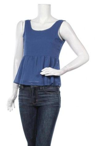 Γυναικείο αμάνικο μπλουζάκι Unic, Μέγεθος M, Χρώμα Μπλέ, Πολυεστέρας, Τιμή 7,92€