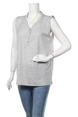 Γυναικείο αμάνικο μπλουζάκι Vrs Woman, Μέγεθος XL, Χρώμα Γκρί, 50% βαμβάκι, 50% πολυεστέρας, Τιμή 5,91€