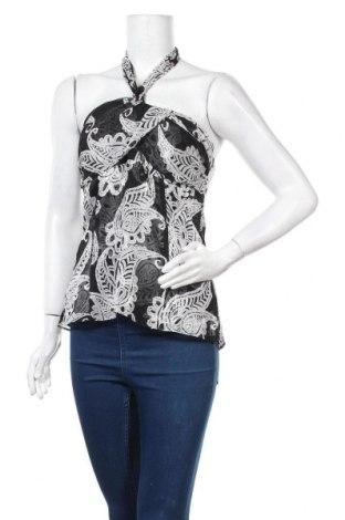 Γυναικείο αμάνικο μπλουζάκι White House / Black Market, Μέγεθος S, Χρώμα Γκρί, Μετάξι, Τιμή 16,04€
