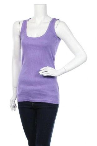 Γυναικείο αμάνικο μπλουζάκι Znk, Μέγεθος M, Χρώμα Βιολετί, Βαμβάκι, Τιμή 4,09€