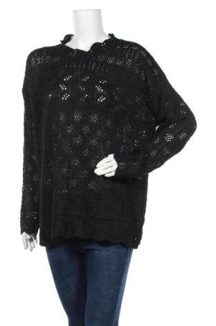 Γυναικείο πουλόβερ, Μέγεθος 3XL, Χρώμα Μαύρο, Τιμή 15,00€