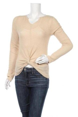 Дамски пуловер Ardene, Размер M, Цвят Бежов, 98% полиестер, 2% еластан, Цена 10,70лв.