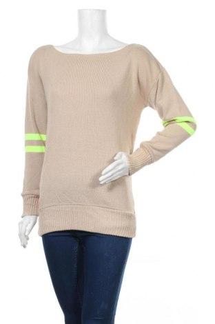 Γυναικείο πουλόβερ Boohoo, Μέγεθος S, Χρώμα  Μπέζ, 95%ακρυλικό, 5% ελαστάνη, Τιμή 18,56€