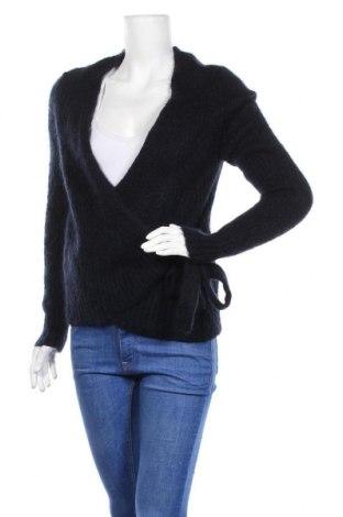 Дамски пуловер COS, Размер XS, Цвят Син, 49% вълна, 30% мохер, 21% полиамид, Цена 48,00лв.