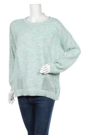 Γυναικείο πουλόβερ Colours Of The World, Μέγεθος XL, Χρώμα Μπλέ, Βαμβάκι, Τιμή 7,60€