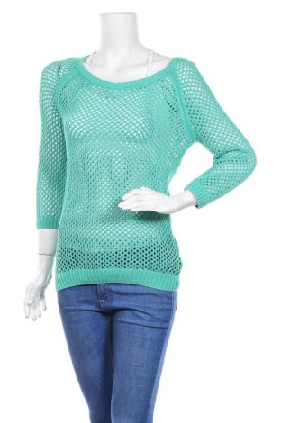 Γυναικείο πουλόβερ Colours Of The World, Μέγεθος XS, Χρώμα Πράσινο, Βαμβάκι, Τιμή 7,47€